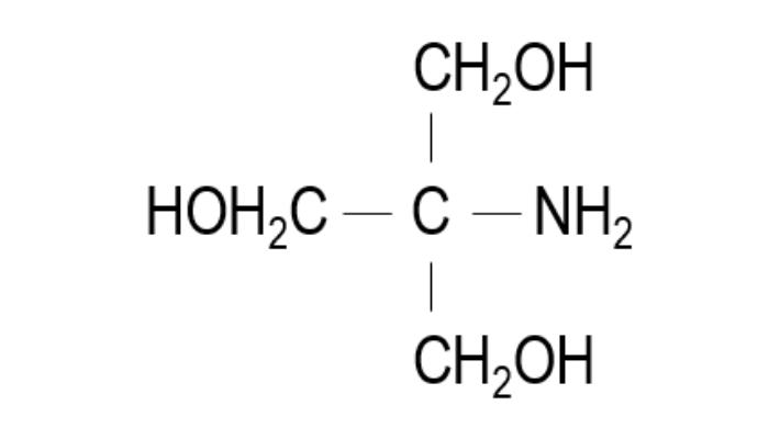 トリスの構造式