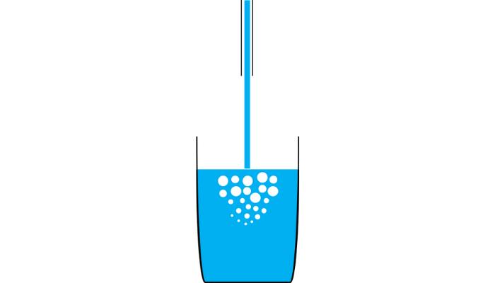 超純水の間違った汲み方